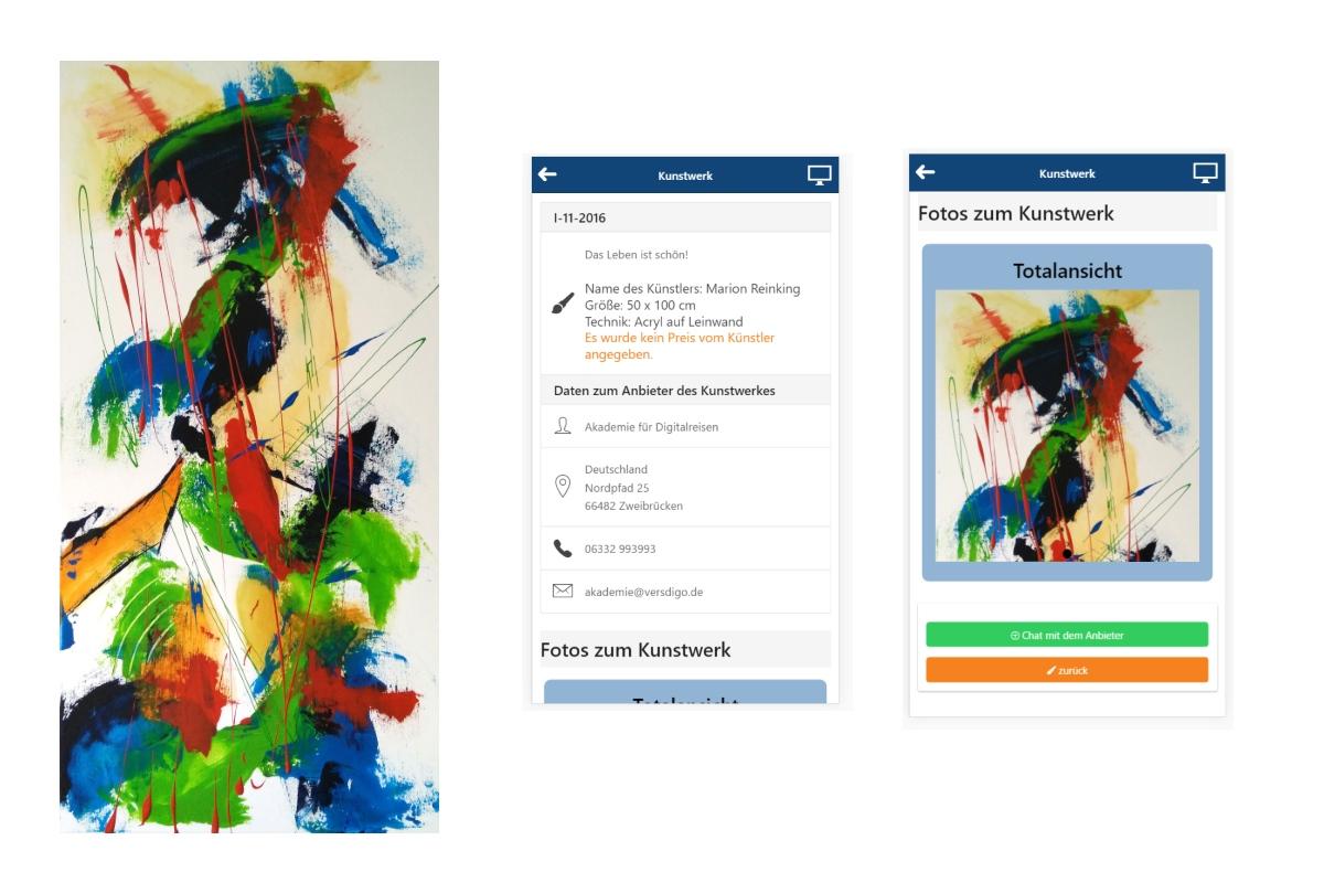 Die Künstler-App